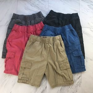 [Childrens Place] 5 Pairs Cargo Shorts Size 10